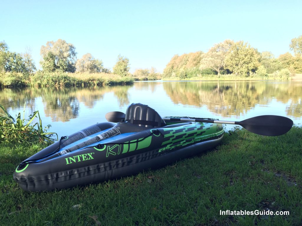 Intex Challenger K1 affordable inflatable kayak