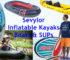 Sevylor Inflatable Kayaks Boats SUPs
