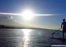 Standup Paddle boarding in Bali Indonesia