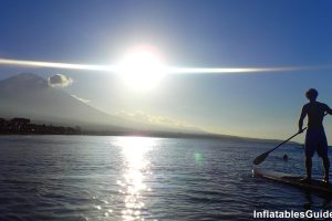 Standup Paddle boarding in Bali Indonesia