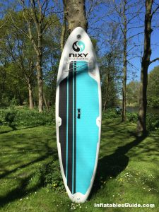Nixy Newport G2 10'6 all-around inflatable standup paddleboard