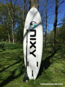 Nixy Newport G2 10'6 standup paddleboard - inflatable SUP
