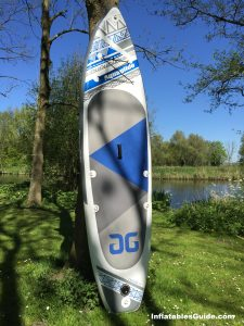 Aquaglide Cascade inflatable SUP - Great paddleboard for cruising and beginners