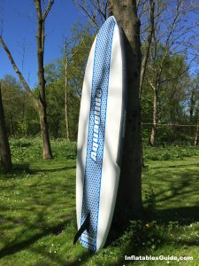 Aquaglide Cascade inflatable standup paddleboard - great designed SUP