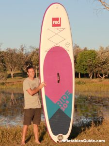 Red Paddle Co Ride 10'6 MSL inflatable standup paddleboard