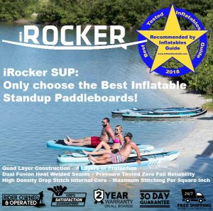The Best Inflatable Standup Paddleboards by iRocker SUP