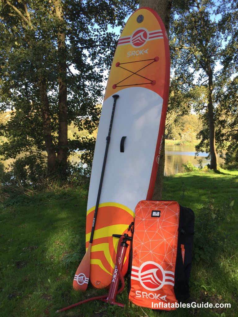 Sroka Malibu 10'6 inflatable standup paddleboard
