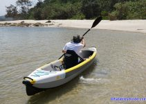 Bay Sports Air Glide 473 inflatable kayak - easy to manoeuvre
