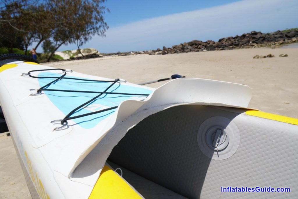 Bay Sports Air Glide 473 inflatable kayak - comfortable and lightweight
