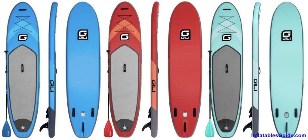 Gili Sports Air 10'6 Inflatable Paddleboard - all colors