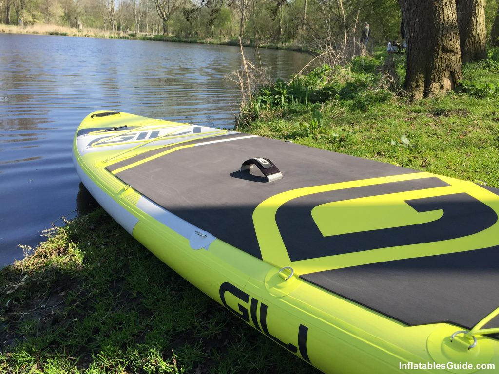 Gili Sports Adventure 11' paddleboard - large deck pad