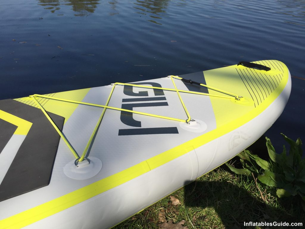 Gili Sports Adventure 11' inflatable SUP - Great Overall Performance
