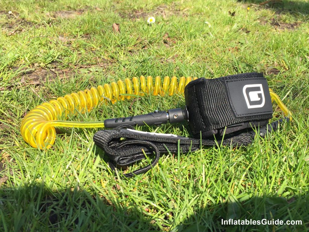 Gili Sports Adventure 11' iSUP - coiled leash