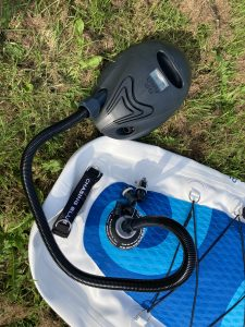 Outdoor Master Whale battery powered SUP kayak pump