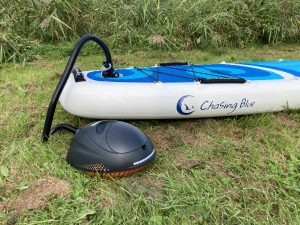 Outdoor Master Whale battery powered SUP pump